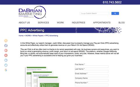 PPC Advertising - DaBrian Marketing Group LLC