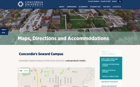 Mercyhurst University Campus Map.Medium Traffic Education Maps Directions Pages Website