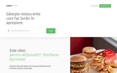 Livrări de mâncare în Portland   UberEATS