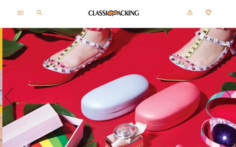 Screenshot of Products Page classicpacking.cn - COSMETIC BAG-Classiooacking - captured Oct. 20, 2017