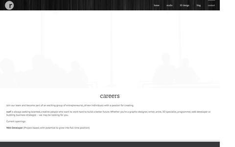 Screenshot of Jobs Page ruef.com - careers | cincinnati jobs | dayton jobs | ruef - captured Jan. 11, 2016