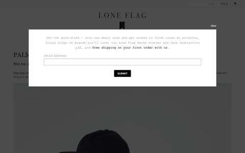 Screenshot of Blog loneflag.co - Loneflag – Lone Flag - captured May 22, 2017