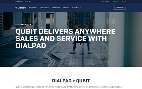 Qubit Works From Anywhere with Dialpad   Dialpad
