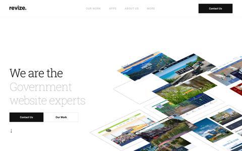 The Government Website CMS Design Experts Municipal Website Design Revize