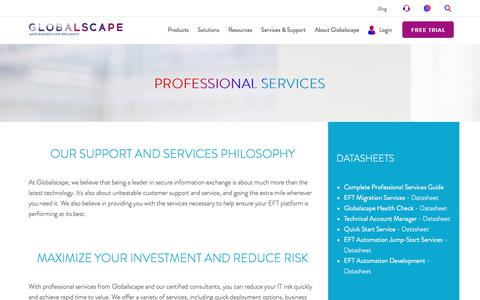 Professional Services & Custom Solutions | Globalscape
