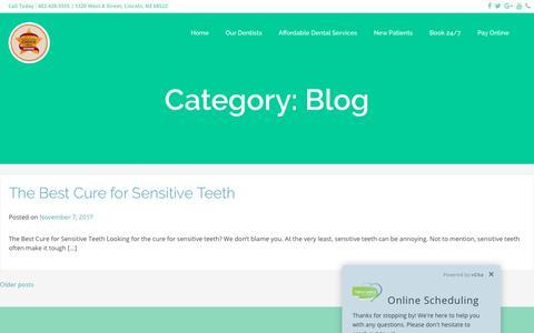 Screenshot of Blog coddingtondental.com - Blog Archives - Coddington Dental - captured July 3, 2018