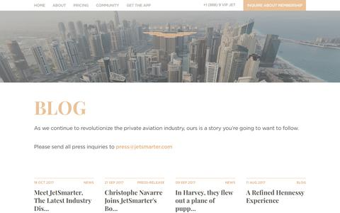News and press releases   JetSmarter