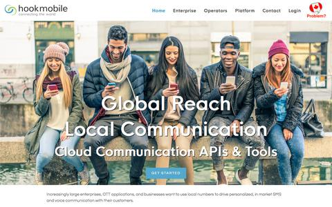 Hookmobile - Cloud Communication APIs & Tools