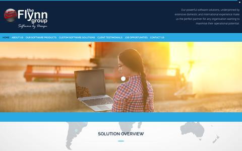 Screenshot of Home Page theflynngroup.com.au - Home 2 - The Flynn GroupThe Flynn Group - - captured Nov. 13, 2018
