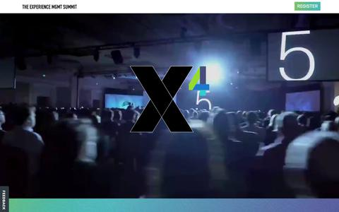 X4summit | Experience Management