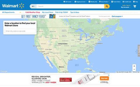 Store Finder - Walmart.com