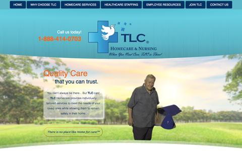 Screenshot of Blog tlcnursing.com - Blog - TLC Nursing Associates, Inc. & TLC HomeCare services, Inc.  - Vermont and New Hampshire - captured Dec. 1, 2016
