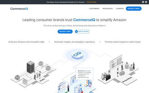Screenshot of Home Page boomerangcommerce.com - (2) New Messages! - captured May 21, 2019
