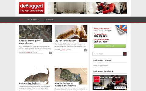 deBugged - The Rentokil Blog UK