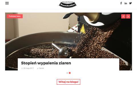 Screenshot of Blog beanbuddies.eu - Blog Bean&Buddies - Bean&Buddies - captured Oct. 10, 2017