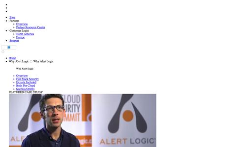 Client Case Studies – Customer Reference Program | Alert Logic