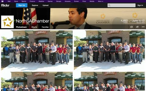 Screenshot of Flickr Page flickr.com - Flickr: NorthSAChamber's Photostream - captured Oct. 22, 2014