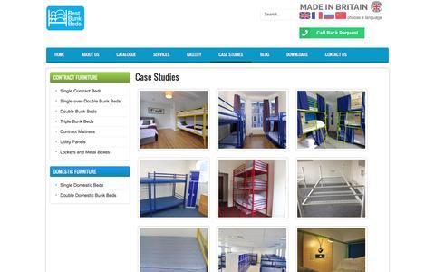Screenshot of Case Studies Page bestbunkbeds.co.uk - Case Studies | Best Bunk Beds - captured Feb. 7, 2016