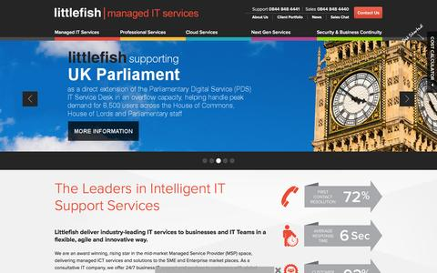 IT Support, Consultancy and Managed Services for UK Businesses