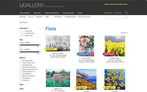 Flora Artwork for Sale, Buy Art Online | UGallery