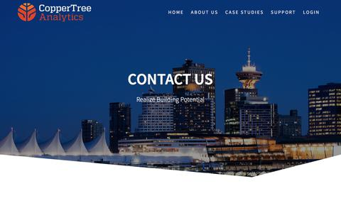 Contact Us – CopperTree Analytics