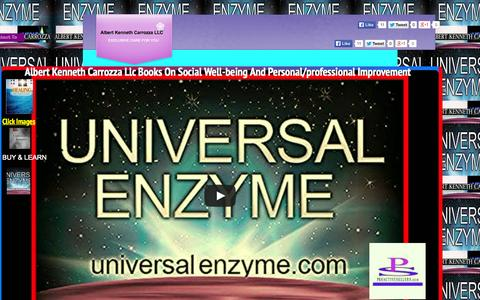 Screenshot of Privacy Page universalenzyme.com - Albert Kenneth Carrozza Llc - Books On Social Well-being And Personal/professional Improvement - captured Aug. 16, 2015