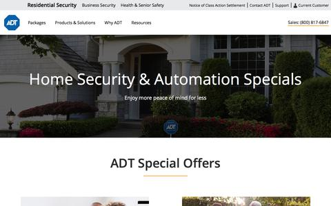 Find The Best Deals on Home Security Systems | ADT
