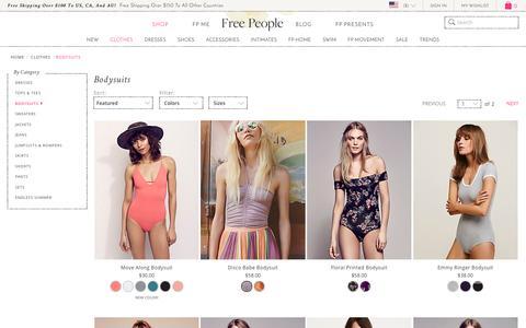 Bodysuit Tops | Long Sleeve, Sleeveless & More at Free People | Free People