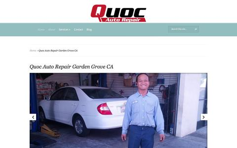 Quoc Auto Repair Garden Grove CA