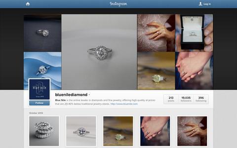 Screenshot of Instagram Page instagram.com - Instagram - captured Oct. 28, 2014