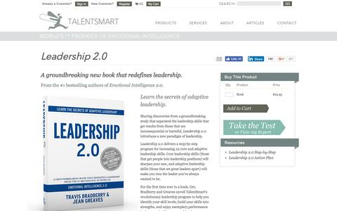 Leadership 2.0 | A Groundbreaking New Leadership Book