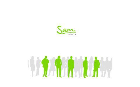 Screenshot of Home Page sam-media.com - Sam-Media - captured Sept. 25, 2014