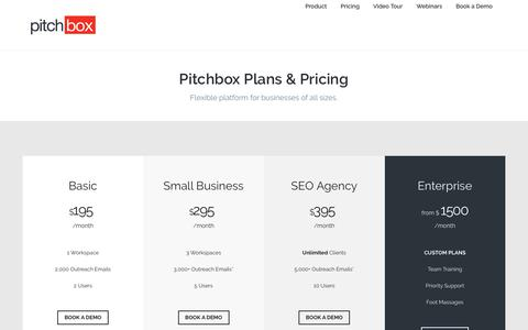 Pitchbox | Pricing