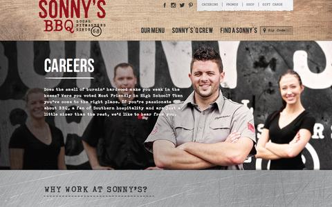 Careers | Sonny's BBQ