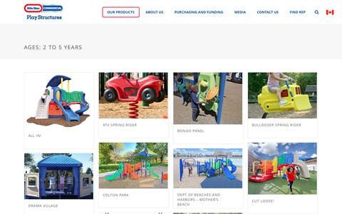 Ages 2-5 | Playground Equipment for school, park and church | Little Tikes Commercial