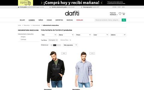 Indumentaria Kevingston masculino - Comprá Ahora | Dafiti Argentina