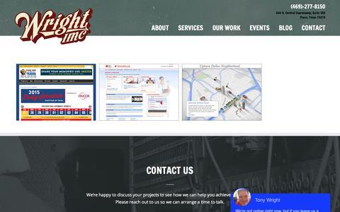 Screenshot of Case Studies Page wrightimc.com - Case Studies Archives - WrightIMC - captured Sept. 24, 2018
