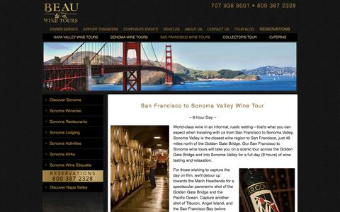 Sonoma Valley Wine Tours from San Francisco by Limousine