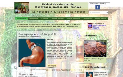 Screenshot of Home Page cdn-geneve.ch - cdn-geneve - captured June 2, 2016