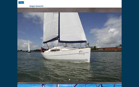 Screenshot of Contact Page drivetosail.nl - Contact - captured Aug. 2, 2016