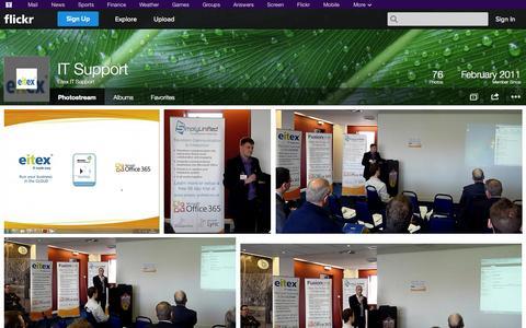 Screenshot of Flickr Page flickr.com - Flickr: Eitex IT Support's Photostream - captured Oct. 22, 2014
