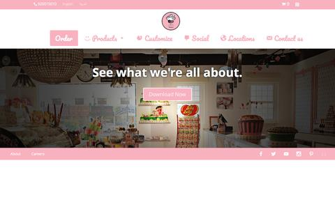 Screenshot of About Page munchbakery.com - Munch Bakery - captured Dec. 19, 2016