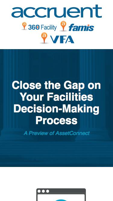 Webinar | Close the Gap on Your Facilities Decision-Making Process