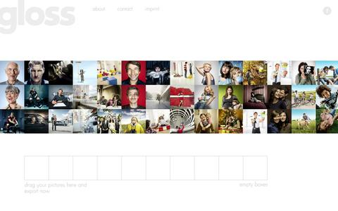 Screenshot of Team Page gloss-postproduction.com - gloss-postproduction - captured Oct. 3, 2014