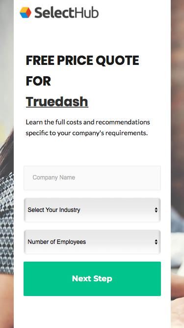 Get Product Pricing for Truedash