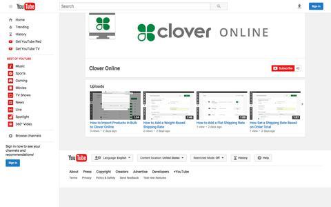 Clover Online  - YouTube