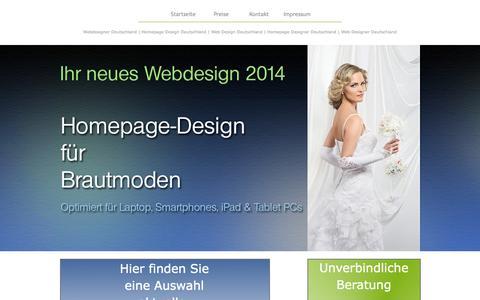 Screenshot of Home Page my-homepage-web-design.de - Webdesigner Deutschland | Homepage Design Deutschland | Web Design Deutschland | Homepage Designer Deutschland | Web Designer Deutschland - captured Sept. 17, 2015