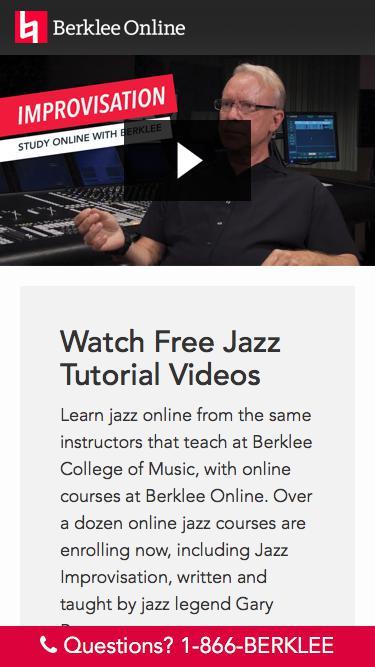 Watch Gary Burton Jazz Videos from Berklee Online