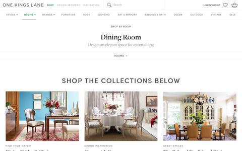 Dining Room | One Kings Lane                                           One Kings Lane