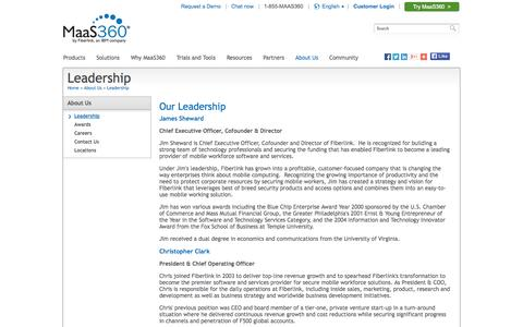 Leadership | MaaS360 by Fiberlink